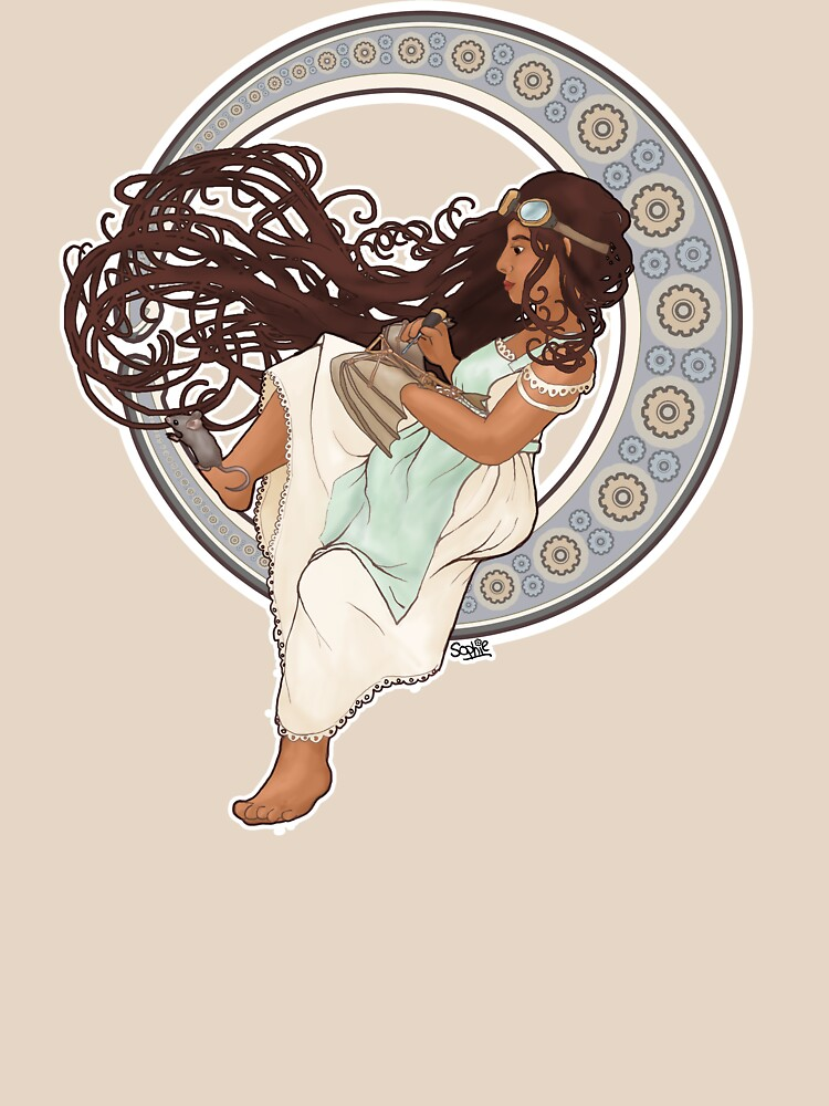 Steampunk Mucha Girl by sqbr