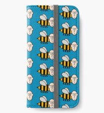 Save the bees. iPhone Wallet/Case/Skin