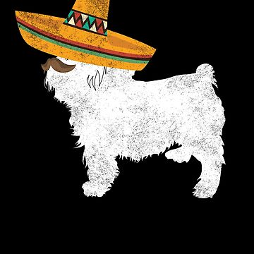 Yorkie Cinco De Mayo Sombrero - Pet Dog Lover Gifts by EcoKeeps