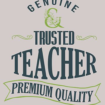 Genuine Trusted teacher. Premium quality by Faba188