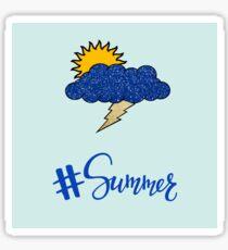 #Sommer Sticker