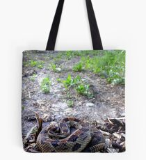 Overlooking the Road Tote Bag