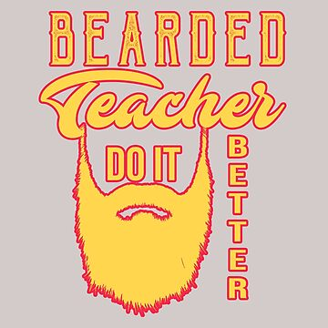 Bearded teacher. Do it better by Faba188