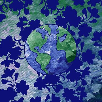 Earth Day Painting by Boogiemonst