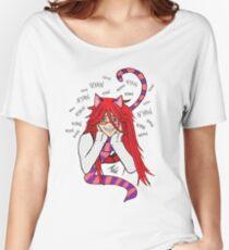 Grell Cheshire Cat - Black Butler Fan Art Women's Relaxed Fit T-Shirt