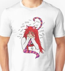 Grell Cheshire Cat - Black Butler Fan Art Unisex T-Shirt