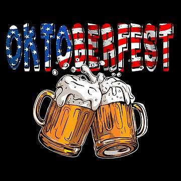 Funny Oktoberfest USA Beer Festival Design For Beer Lovers And Beer Drinkers by galleryOne