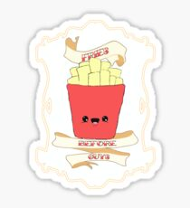 Fries Before Guys. Sticker