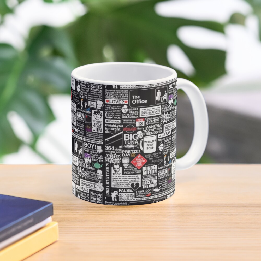 Wise Words From The Office - The Office Quotes Mug
