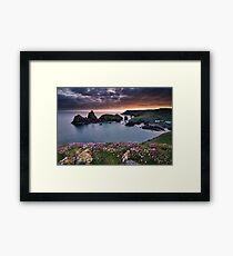Cornwall - Kynance Cove Framed Print