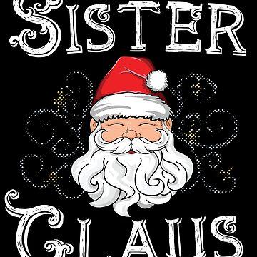 Mama Claus Matching Family Christmas T-Shirt Santa Mom by 14thFloor