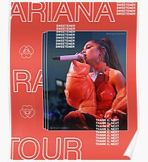 sweetener tour orange Poster