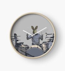 rabbit on the drums Uhr