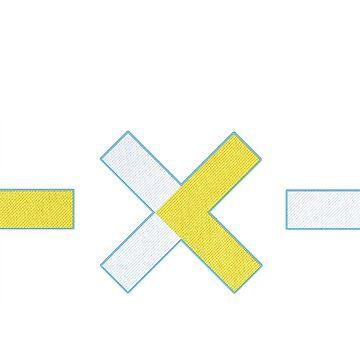 morgen x zusammen - gesticktes Logo von tonguetied