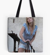 On the scale dreaming Tote Bag