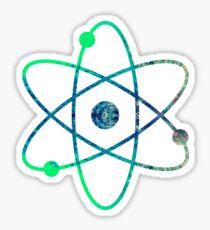 Science ATOM symbol Sticker