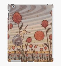 Snail in the Flowers iPad Case/Skin