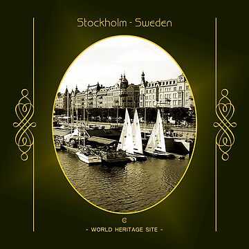 Stockholm World Heritage Site In Sweden by vysolo