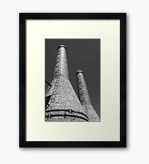 Two Chimney Stacks Framed Print