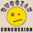 Russian Concussion Funny Trump Mueller Report No Collusion Emoji by theartofvikki