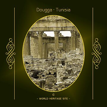 Dougga World Heritage Site In Tunisia by vysolo