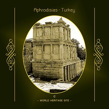Aphrodisias World Heritage Site In Turkey by vysolo