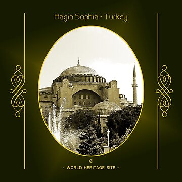 Hagia Sophia World Heritage Site In Turkey by vysolo