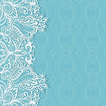 mint, white,modern,floral,trendy,elegant,chic,girly,feminine,soft by love999