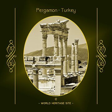 Pergamon World Heritage Site In Turkey by vysolo