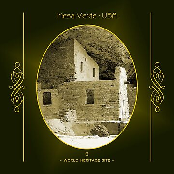 Mesa Verde World Heritage Site In USA by vysolo