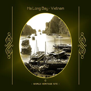 Ha Long Bay World Heritage Site In Vietnam by vysolo