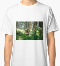 Timberwolf in Forest Classic T-Shirt