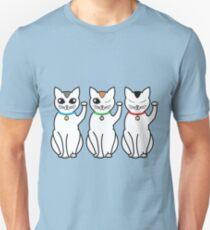 Three Lucky Cats T-Shirt