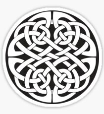 Round Celtic Knot Sticker
