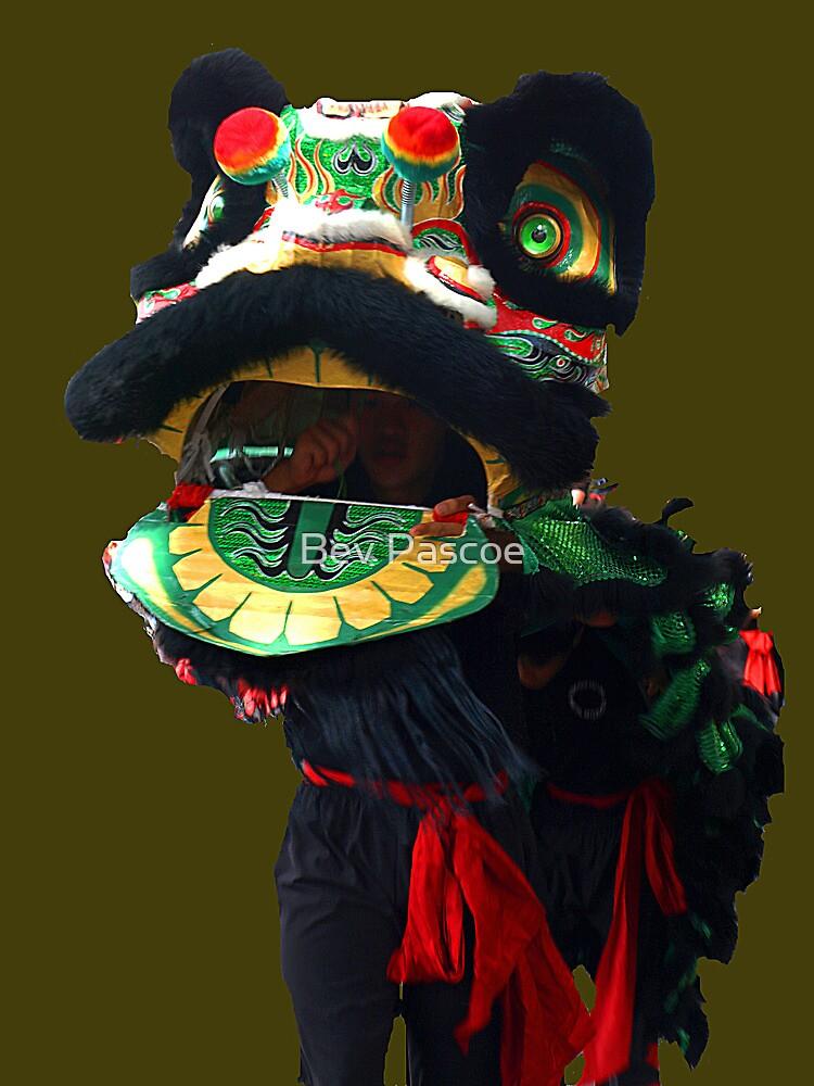 Green Eyed Dragon,  Easter Parade, Bendigo, Victoria by Bev Pascoe