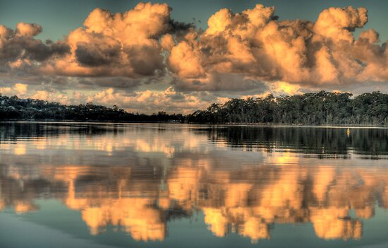Blessings - Narrabeen Lakes - The HDR Experience by Philip Johnson