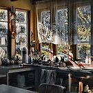 bush house kitchen by carol brandt