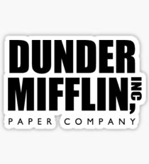 Dunder Mifflin, Inc. Papierfirma Sticker