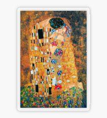 Gustav Klimt - Der Kuss Transparenter Sticker