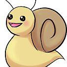 Adorable Chibi Mr. Snail by a-ka-neArt