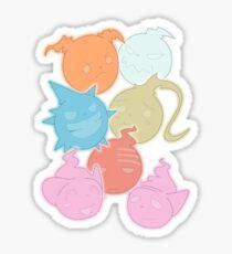 Seelenparty Sticker