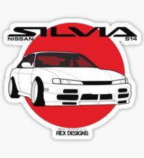 Nissan Silvia S14 Kouki Sticker