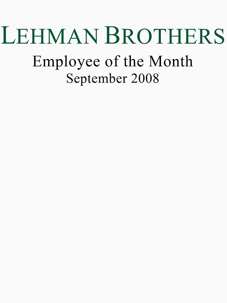 Humor político de Lehman Brothers de TheLoonMoon