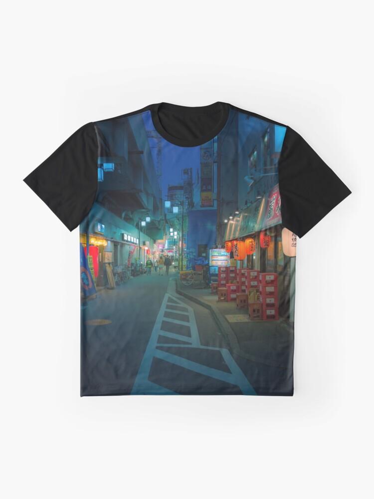 Alternate view of Small Streets of Koenji Graphic T-Shirt