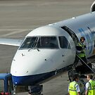 Glückliche Landungen - Flughafen Edinburgh von BlueMoonRose