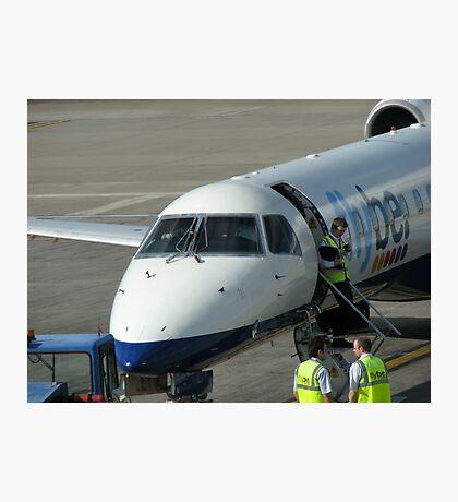 Glückliche Landungen - Flughafen Edinburgh Fotodruck