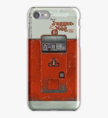 Juggernog machine iPhone Case/Skin