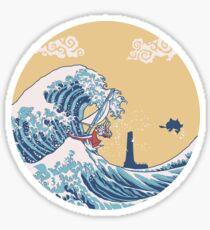 Das große Meer Sticker