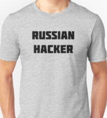 Russischer Hacker Slim Fit T-Shirt