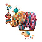 «Elefante de ceilán» de Karin Taylor